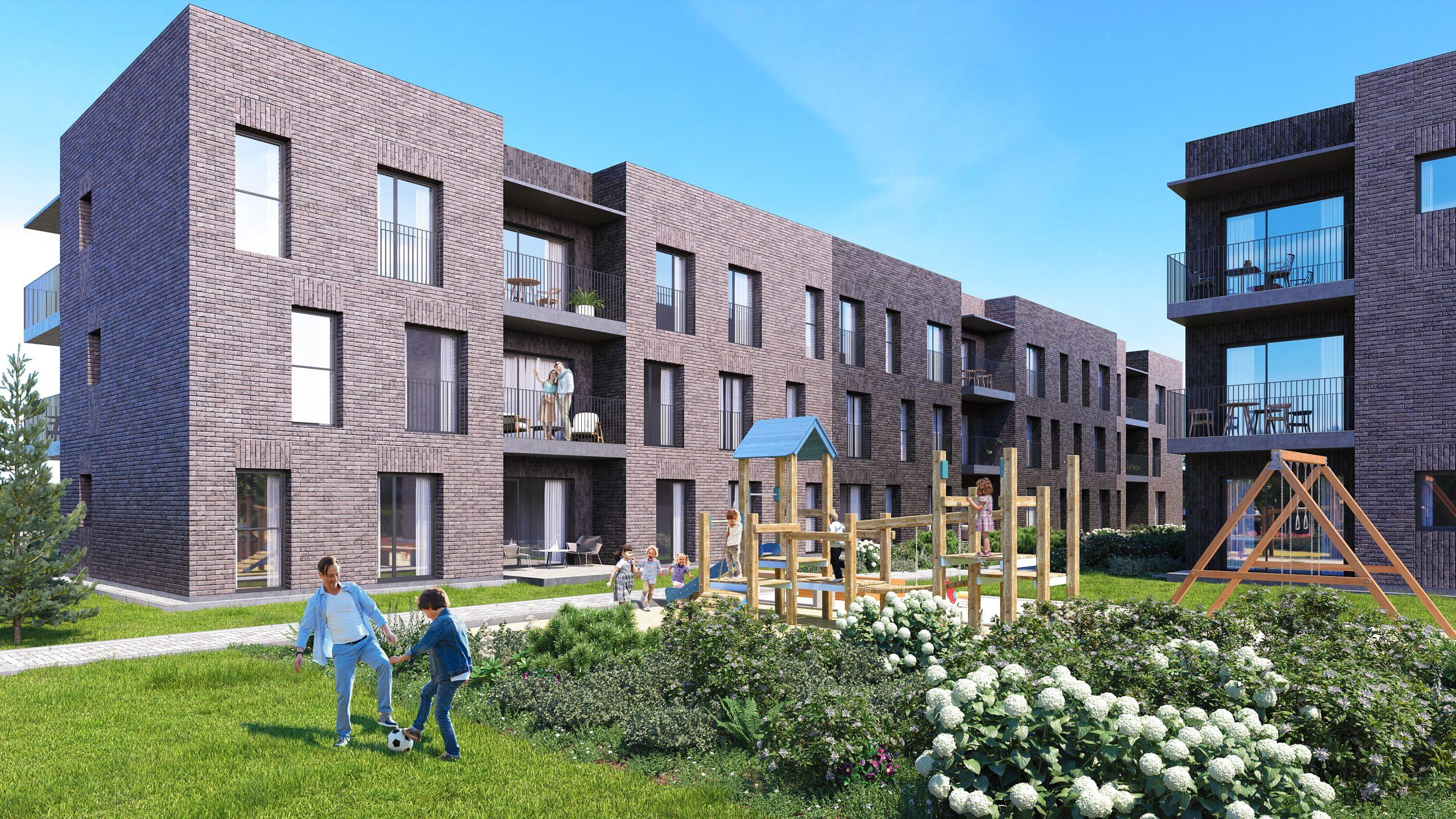 2 ir 3 kambarių butai šalia Klaipėdos centro